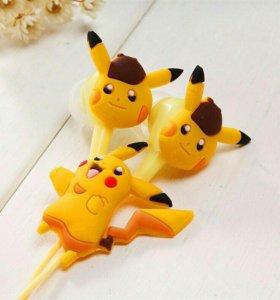 Детские наушники Pokemon GO Пикачу. Новые