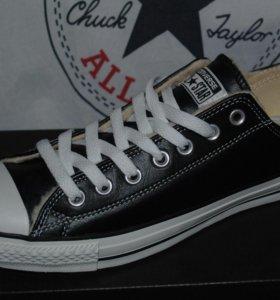 Новые кожаные кеды Converse All Star оригинал
