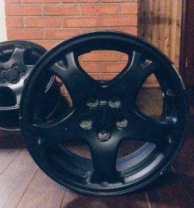 Оригинальные диски Subaru R16