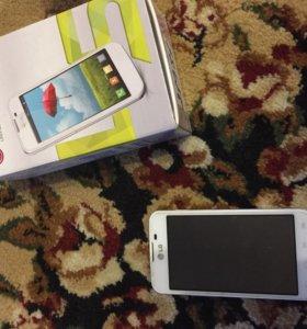 Смартфон LG E455 Optimus L5 II Dual White