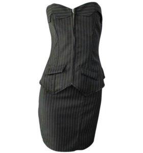 Костюм юбка+корсет