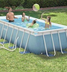 28316 Каркасный бассейн Intex, 400х200х100см