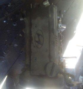 Двигатель Hyundai Solaris 1.4