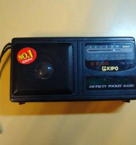 Переносное радио KIPO