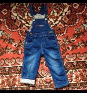 Комбез джинсовый 92 р