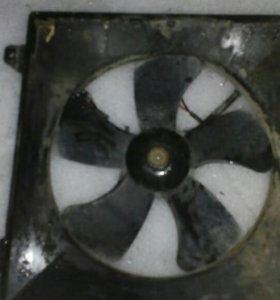 Вентилятор охлаждения радиатора Шевроле лачетти