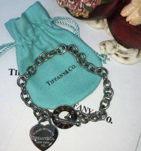 Tiffany браслет сталь