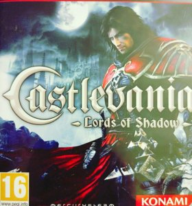 Диск CastleVania Lords of Shadow Ps3