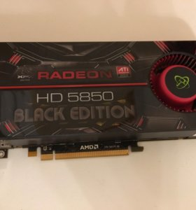 Видеокарта XFX AMD Radeon 5850 Black Edition 1Gb