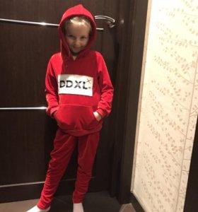 Детский костюм спортивный для девочек