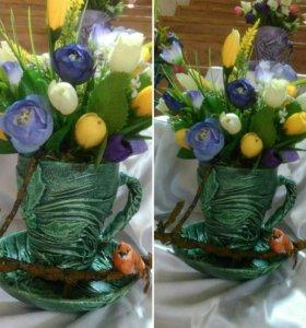 Композиции из цветов на заказ