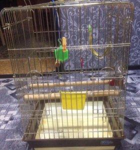 Клетка для птиц большая...