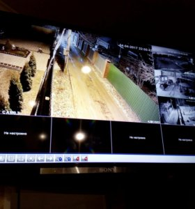 Видеонаблюдение, системы безопасности, ворота.