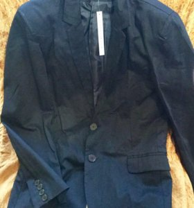 Пиджак новый, р.48-50, Китай, цвет черный