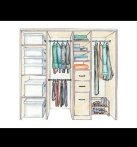 Мебель встроеннаЯ шкафы