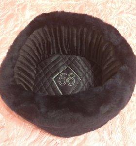 Зимняя новая шапка ушанка МВД