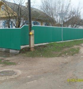 Забор из профнастила арт. 27