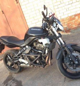 Продам мотоцикл Kawasaki er6f