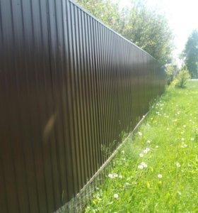 Забор из профнастила арт. 9