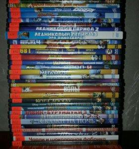 DVD с мультфильмами