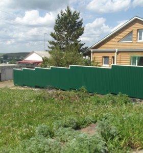 Забор из профнастила арт. 15