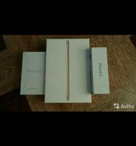 Коробки от iPhone и ipad
