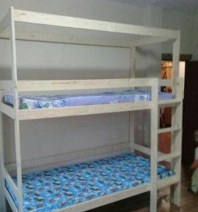 Кровати для хостелов с каркасом для штор