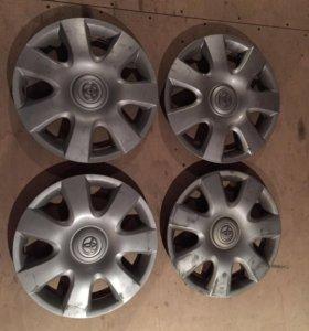 Колпаки R15 Toyota