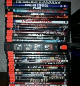 DVD с фильмами боевики