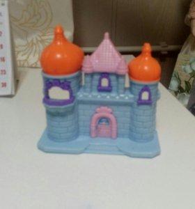 Игрушечный замок для кукол из киндара