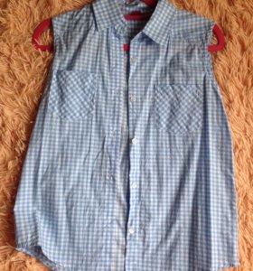 Рубашка-блузка xs