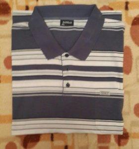 Рубашка поло 62-64р мужская ( большой размер)