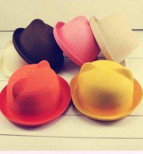 Шляпка, шапка с ушками
