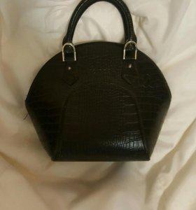 Кожаная сумка (мини-сумочка)