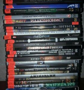 DVD с фильмами фантастика
