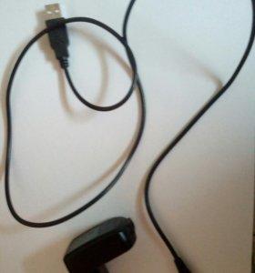 Зарядник и uzb- провод для телефона