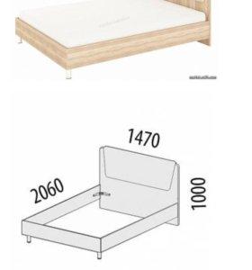 Каркас кровати 140х200