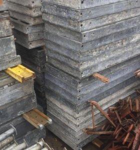 Опалубка бу колон стен, щит универсальный 0,75х3м