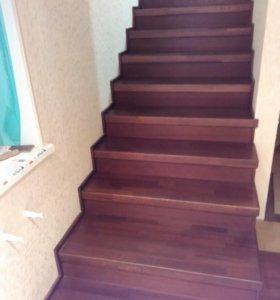 Изготовление лестниц из различных пород дерева