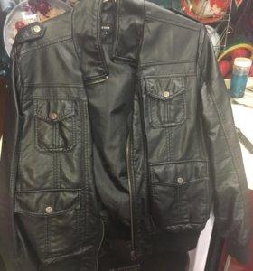 Куртка из экокожи Ostin.