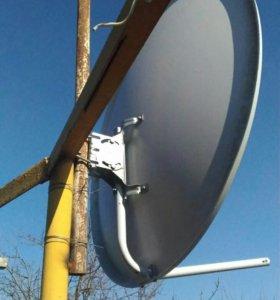 Спутниковая антенна 08м
