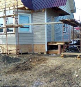 Строительство дачных домиков, бань,беседок,сараев.