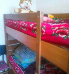 Двухяростная кровать