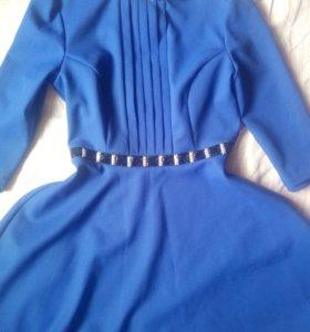 Платье турция клешеная юбка