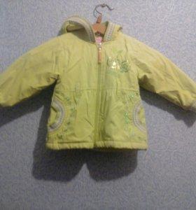 Куртка на девочку,весна-осень