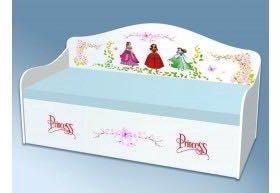 Кровать диван детская принцесса новая