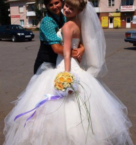 Свадебное платье!!💕💕