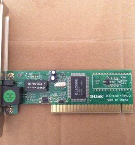 Сетевая карта PCI D-Link DFE-520TX