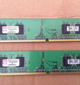 Оперативная память Kingston KVR533D2N4/256 (2шт.)