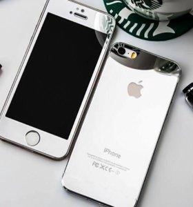 Зеркальные стекла на iPhone 6/6s